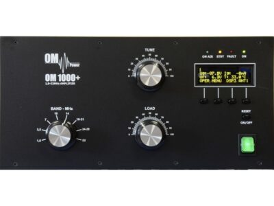 OM1000+ front panel