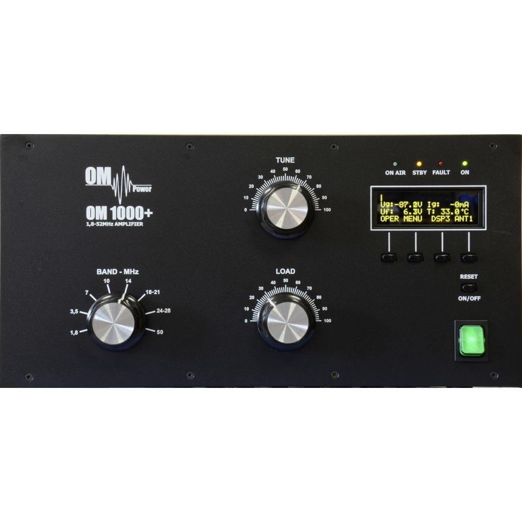 OM1000+ HF & 6m 1,2kW Power Amplifier