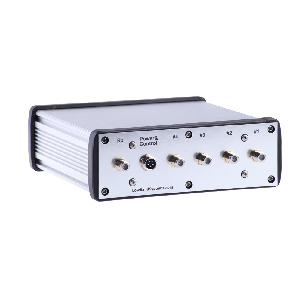Bs 4 Rx Antenna Switch With Preamp High Pass Filter Uhf Preamplifier Lbs 75 Ohm