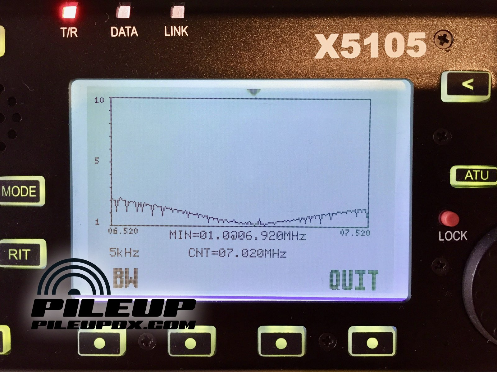 Xiegu X5105 HF/50MHz QRP Transceiver