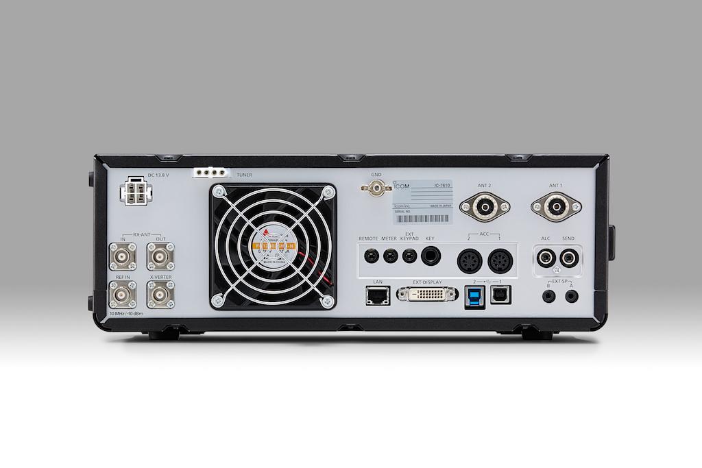 IC-7610 HF/50 MHz SDR Transceiver