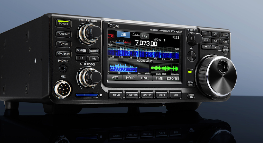 IC-7300 HF, 50 & 70 MHz SDR Transceiver