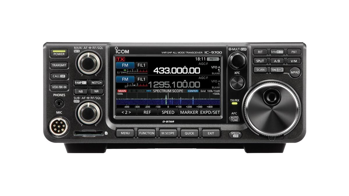 IC-9700 VHF/UHF/1 2 GHz SDR Transceiver