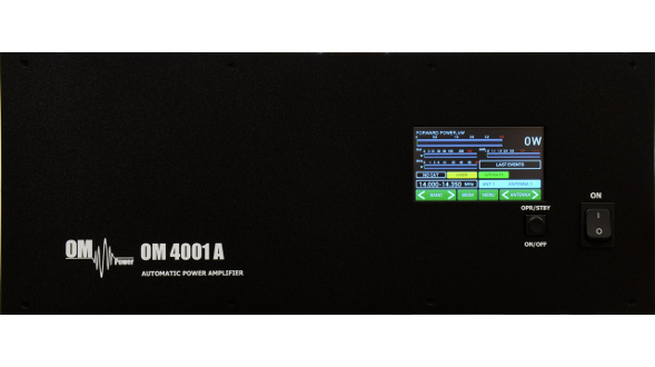 OM4001A HF 4kW Automatic Amplifier